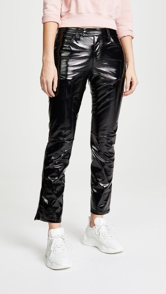My Pick: ei8htdreams Patent Slim Straight Pants