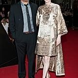 Tilda Swinton hit the Seoul red carpet for the Snowpiercer premiere in an asymmetric Valentino Haute Couture design.