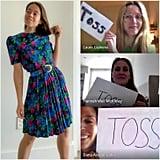 Vintage Floral Dress: Toss or Keep?