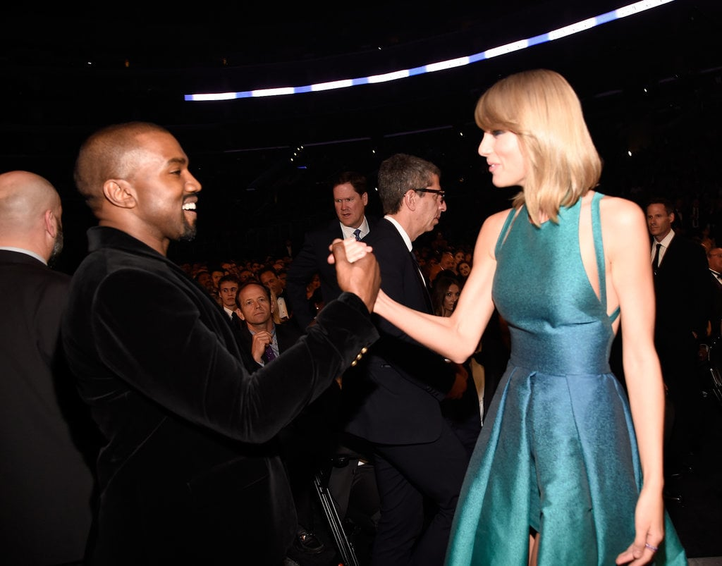 Kanye West and Taylor Swift settled things in 2015.