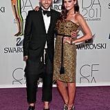 Chris Benz, with Atlanta de Cadenet Taylor in his design
