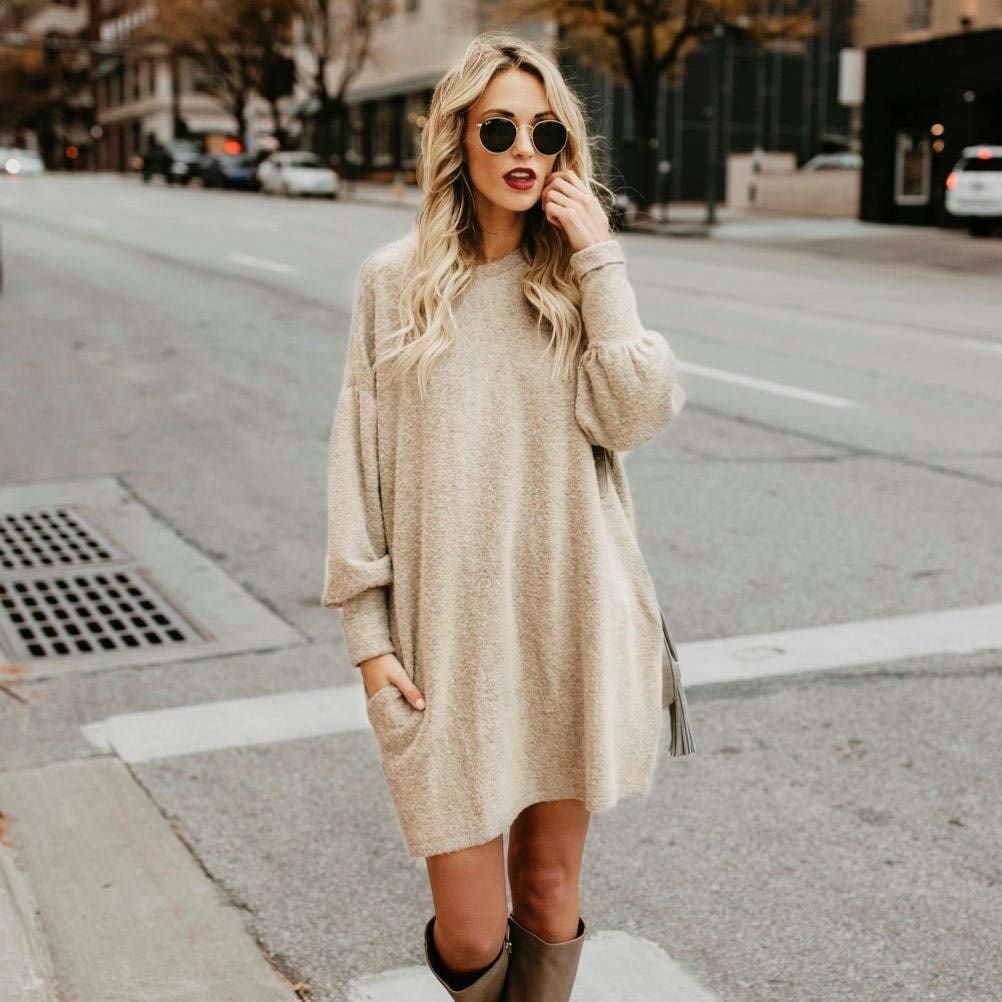 The Comfiest Sweater Dress