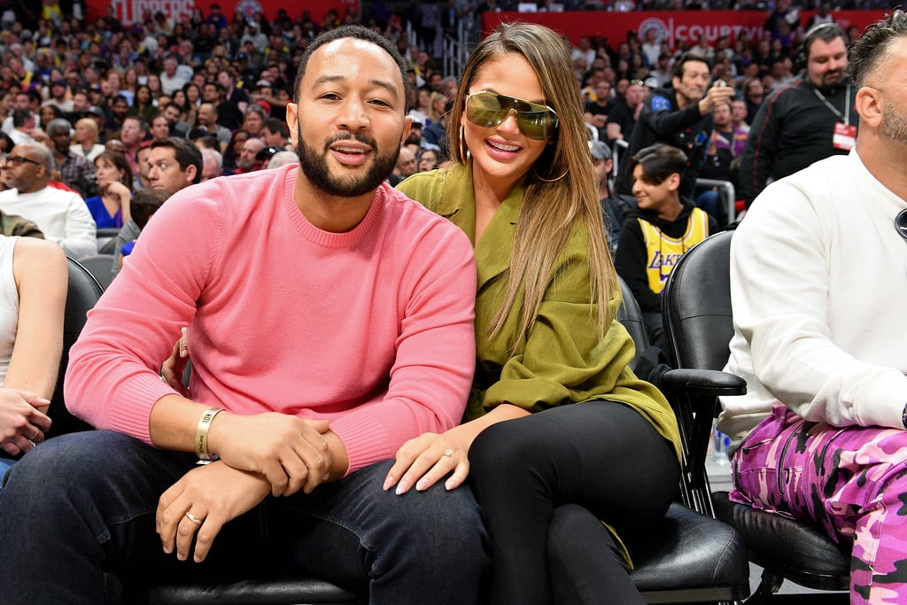 Chrissy Teigen, John Legend Trade Banana Bread For Lettuce