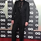 Sam Smith Wears Gucci Heels to the GQ Men of the Year Awards