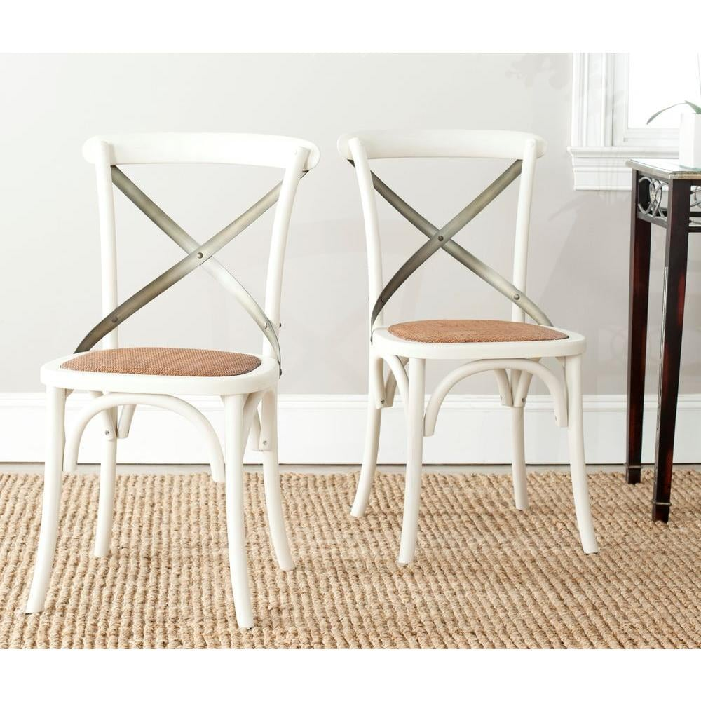 Safavieh Eleanor X Back Side Chair ($245 per set of 2)