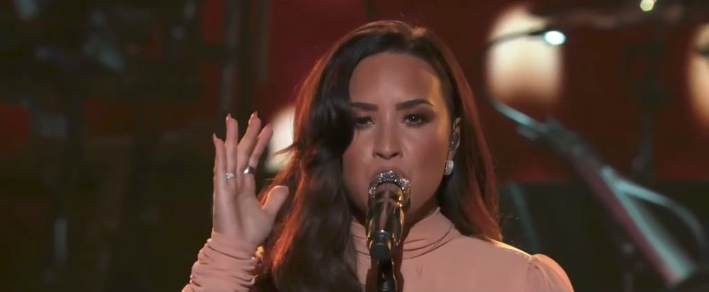 "Demi Lovato's Emotional Cover of ""Hallelujah"" Will Give You Goosebumps"
