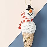 Frosty the Snowcone Ornament