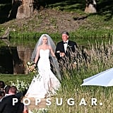 Julianne's Custom Marchesa Wedding Gown