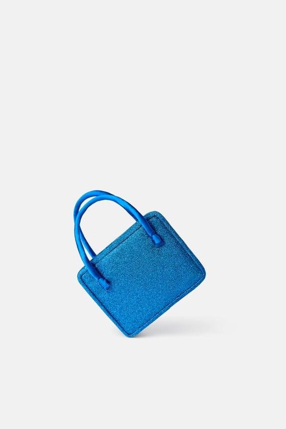 Zara Glitter Mini Bag