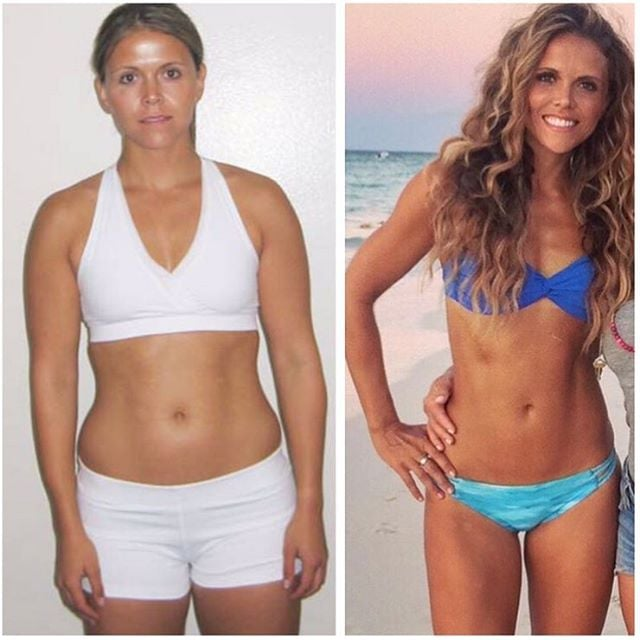 Tone It Up Before and After Weight-Loss Photos