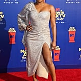 Tiffany Haddish on the Red Carpet at the MTV Movie and TV Awards