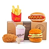 P.L.A.Y. 5-Piece Fast Food Plush Dog Toy Set