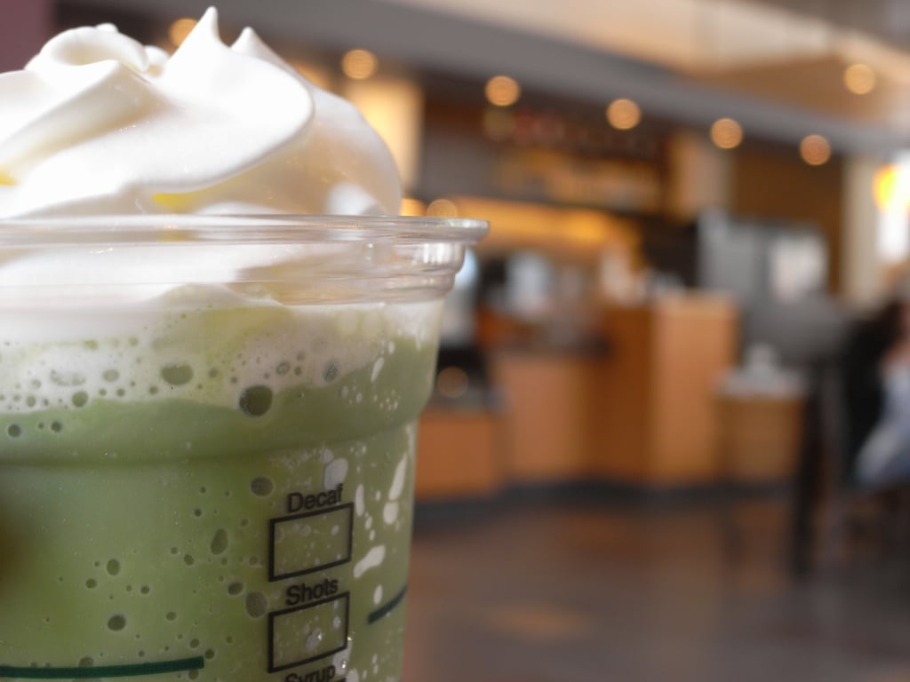 How to Turn a Green Tea Frap Into a Mint Chocolate Shake