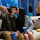 Lana Condor and Noah Centineo in To All the Boys I've Loved Before