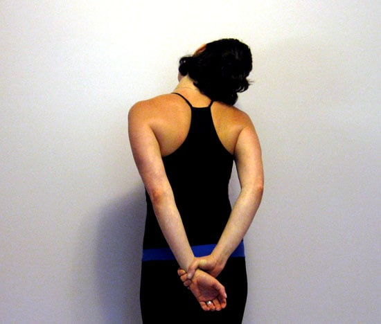 Stretch It: Behind the Back Neck Stretch