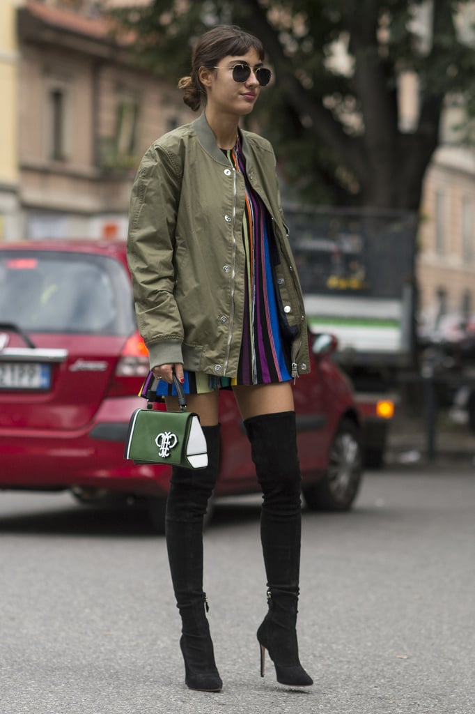 Chic Street Style and Accessories From Milan Fashion Week