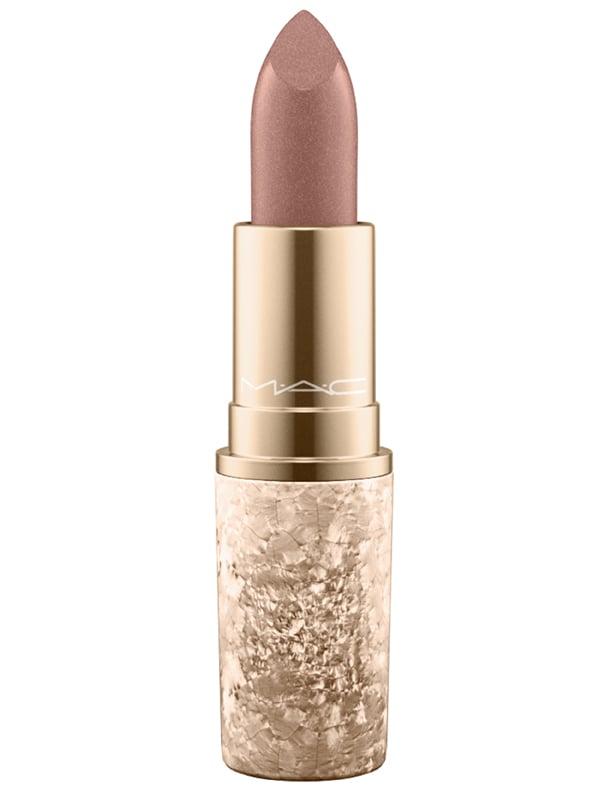MAC Snow Ball Lipstick in I'm Glistening