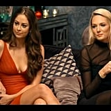 Lana and Sarah discuss with the others the pros and cons of pulling Sam aside for a chat.