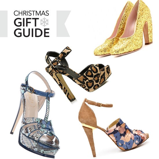 Who Wants Hot Designer Heels for Christmas? Snakeskin, Colour Blocked, Leopard Print from Alexander Wang, PeepToe, YSL & more