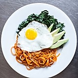 Keto: Sweet Potato Noodle Breakfast Bowl