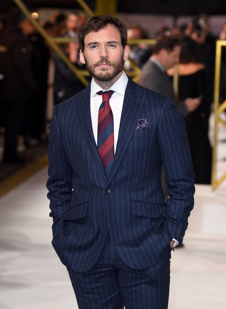 Sam Claflin at the Charlie's Angels Premiere in London