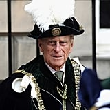 Prince Philip was in attendance at the Thistle Ceremony in Scotland.