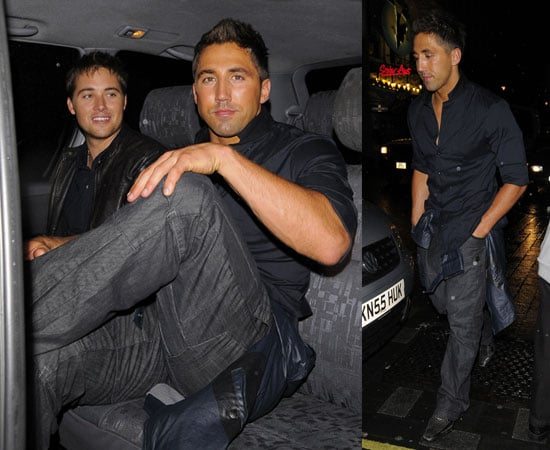 Pictures of Gavin Henson and Marcus Patric Partying at Movida Before Strictly Come Dancing Starts Gavin Is Rumoured Contestant