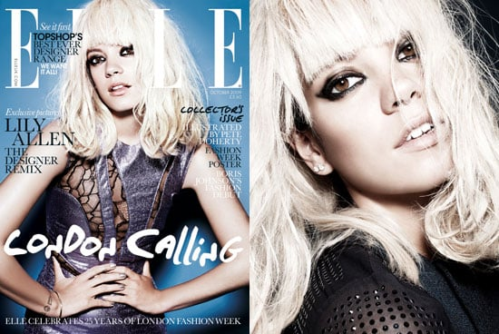 Photos of Lily Allen on Elle Cover