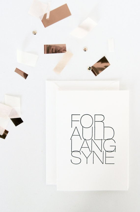 Inhaus Press Auld Lang Syne Cards