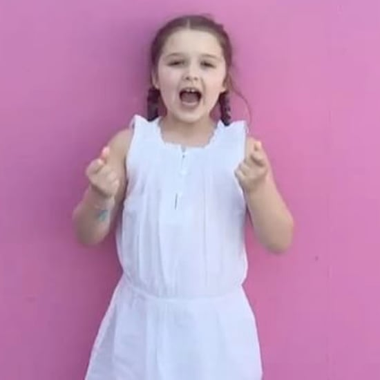"Harper Beckham Singing ""Happy Birthday"" to Victoria 2017"