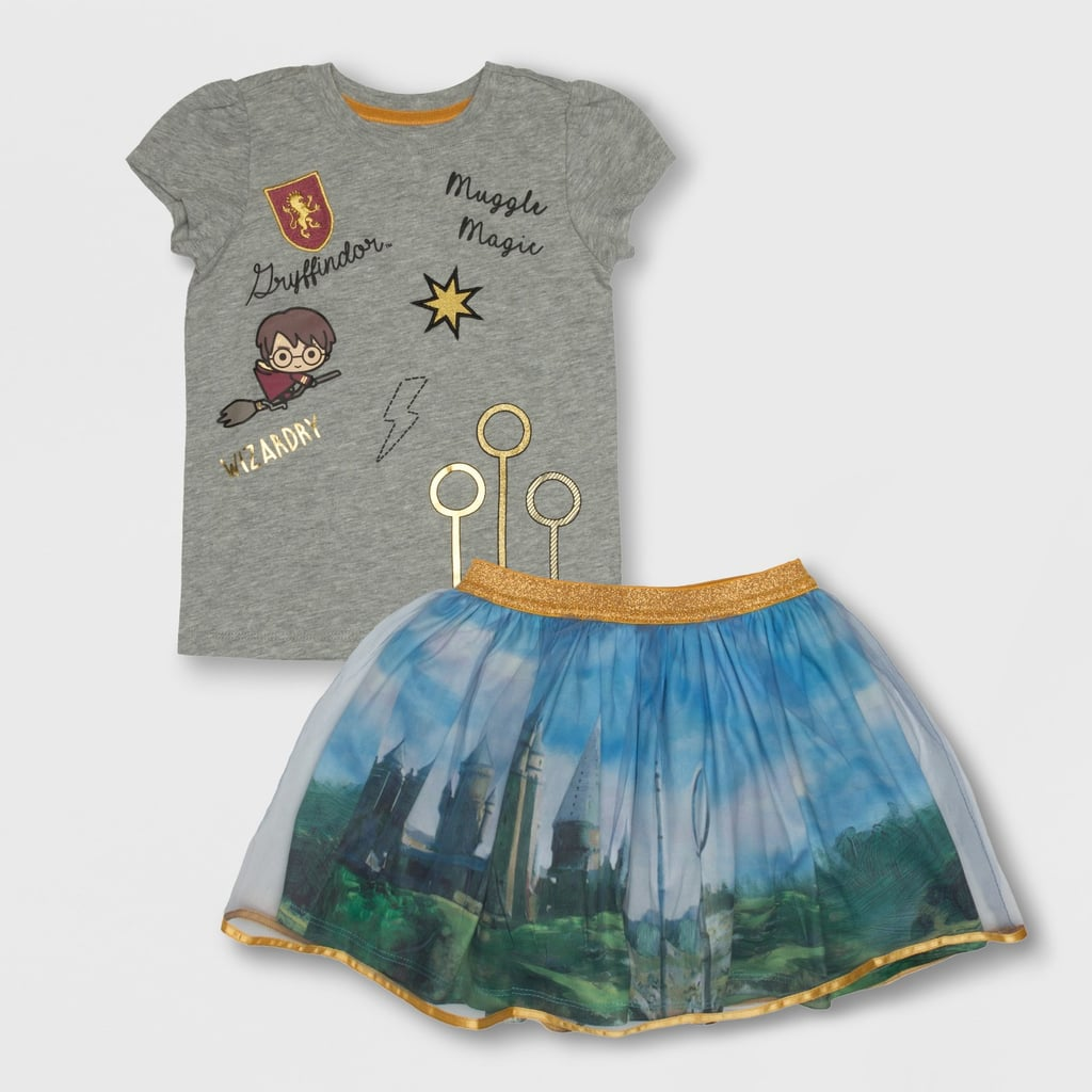 ef79a273cc4 Toddler Harry Potter Keeper Patches Top and Bottom Set