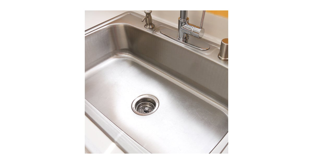 Stainless Steel Sink How To Clean Everything In Your