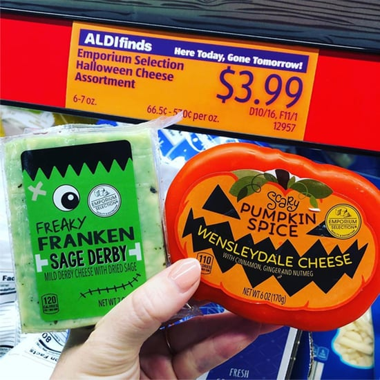 Aldi Has Halloween-Themed Cheese