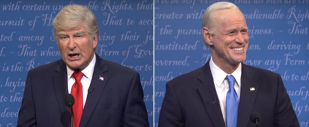 SNL's Final Presidential Debate Cold Open Skit | Video