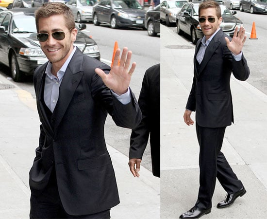 Pictures and Video of Jake Gyllenhaal at The David Letterman Show Promoting Prince of Persia