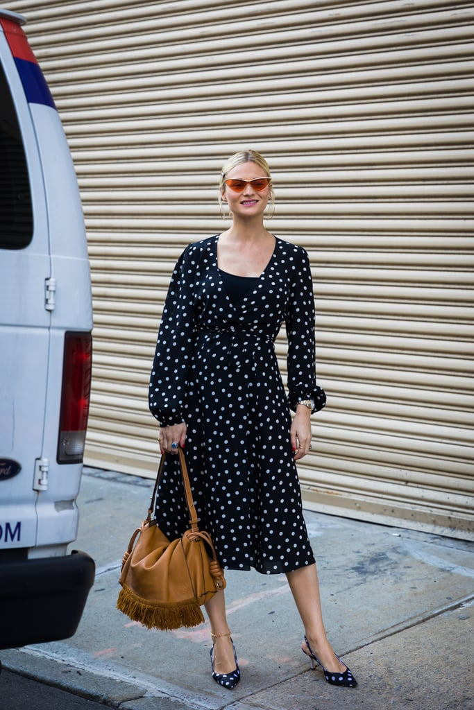 Buy Into 2 of the Most Versatile Polka-Dot Pieces: a Wrap Dress and Slingbacks