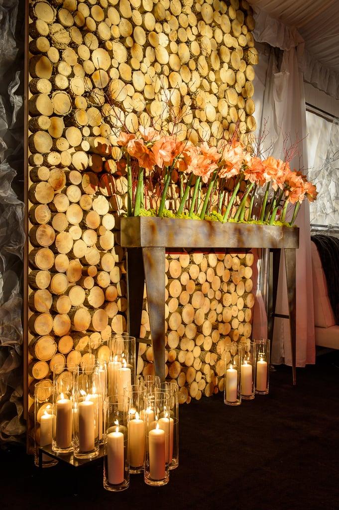 Add woodsy decor.