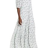 CODEXMODE Floral Print Maxi Dress