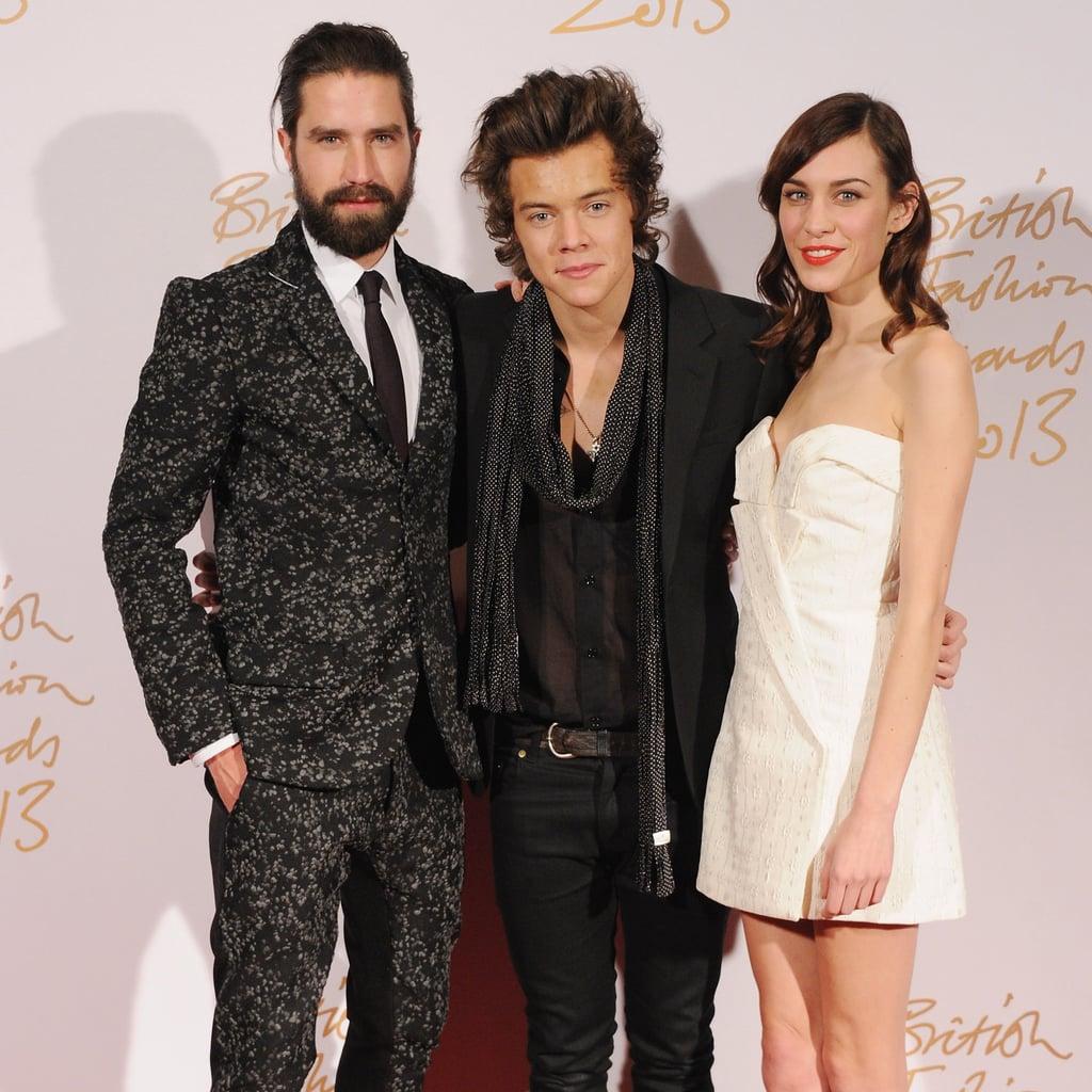 British Fashion Award Winners 2013