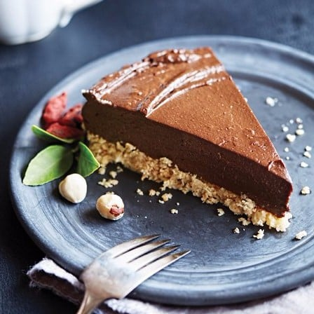 Vegan Avocado Chocolate Torte Recipe