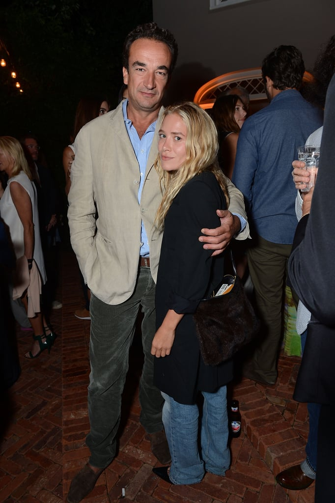 Mary-Kate Olsen and her boyfriend, Olivier Sarkozy, headed East on Long Island to attend Ron Perlman's star-studded bash in honor of the Apollo Theater in August.