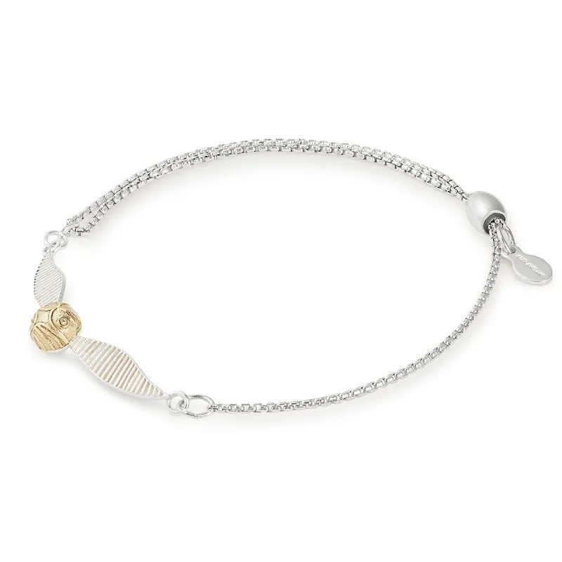 Harry Potter Golden Snitch Pull Chain Bracelet
