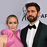 Emily Blunt and John Krasinski at the SAG Awards