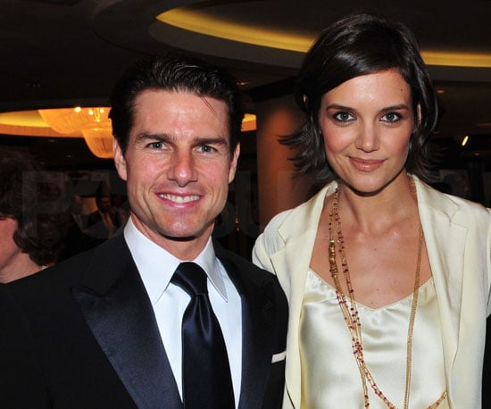 Photo of Katie Holmes and Tom Cruise at the White House Correspondents Dinner in DC