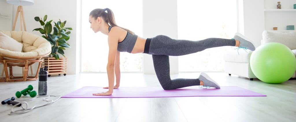 Bodyweight Home Workout For Legs and Abs