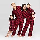 Target Buffalo Check Flannel Pajamas