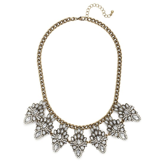 BaubleBar Clear Crystal Necklace   Review