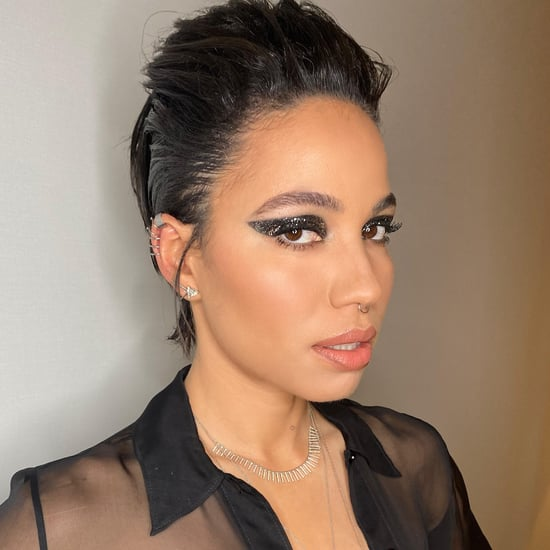 Jurnee Smollett-Bell's Eye Shadow at Birds of Prey Premiere