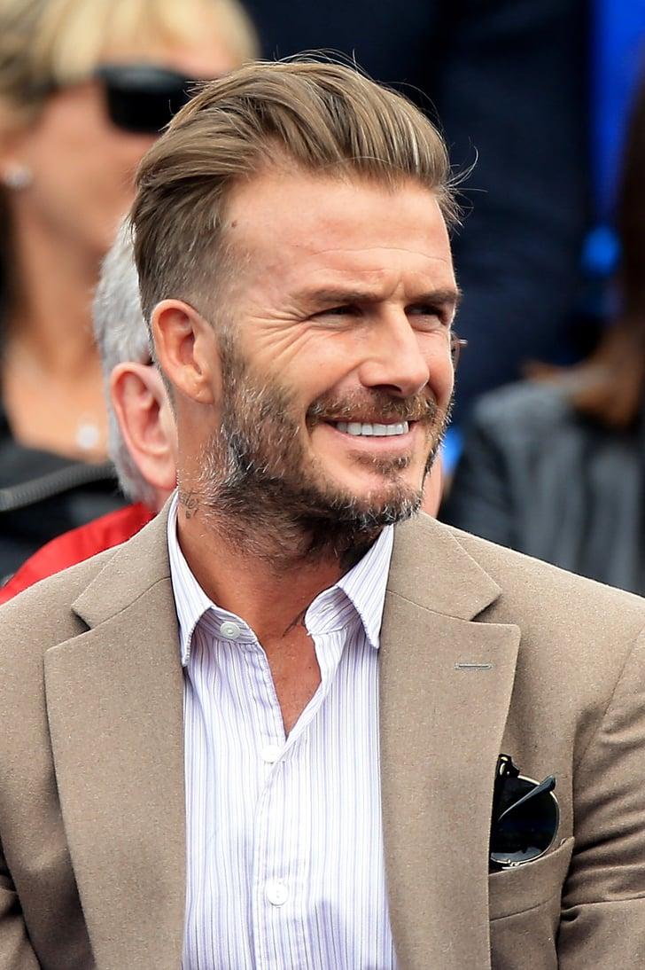 David Beckham Frisur 2021