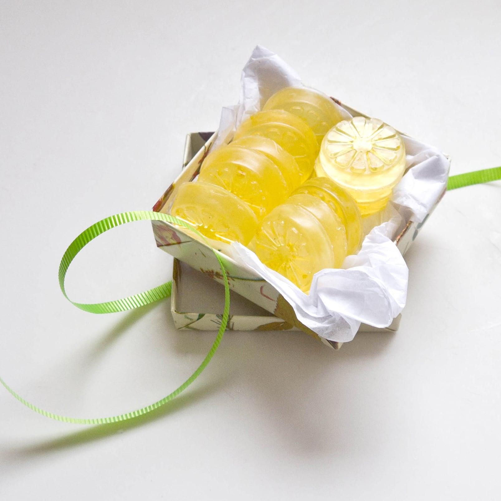 DIY Lemon Soap